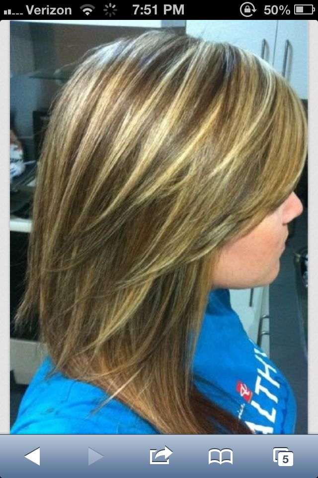 Blond Highlights On Light Brown Hair Hair Pinterest