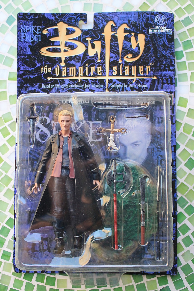 Buffy The Vampire Slayer Spike Action Figure Moc  Ebay