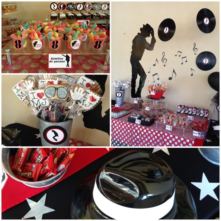 61 best Michael Jackson Birthday Party images on Pinterest Mj