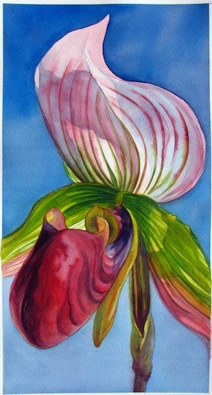 In Painting Watercolor Flowers: Orchids with http://artistsnetwork.tv, you'll see two different approaches to painting flowers using tried-and-true watercolor techniques.