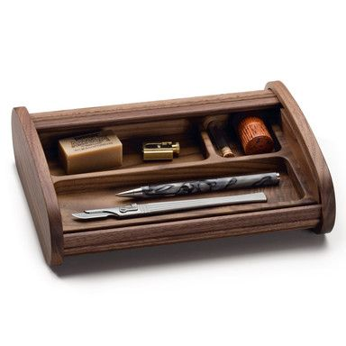 Walnut Pen and Pencil Case | Writing