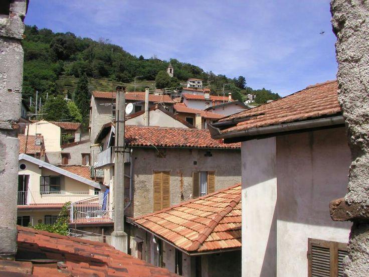 #Belgirate 's roofs ( #Verbania #Piedmont #Italy )