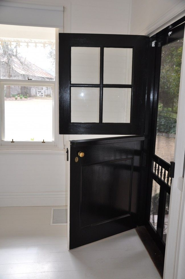 25 best ideas about dutch door on pinterest farmhouse - Exterior door with screen built in ...