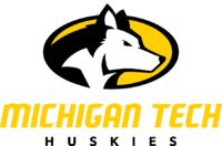 Huskies, Michigan Technological University (Houghton, Michigan) Div II, Great Lakes Intercollegiate Athletic Conference #Huskies #Houghton #NCAA (L7785)
