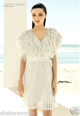 SABATINI WHITE CARDIGAN buy this item from sheisawoman @eBay au