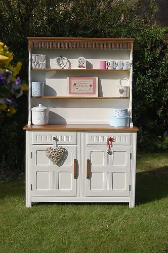 Shabby Chic Welsh Dresser | eBay