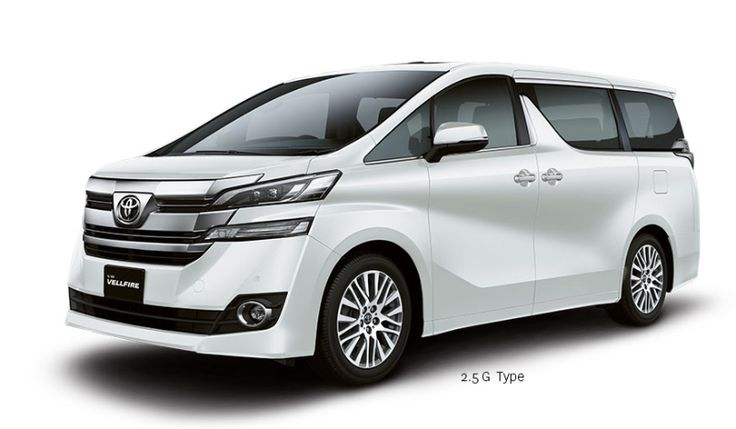 New Toyota VellFire 2.5G Exterior 1