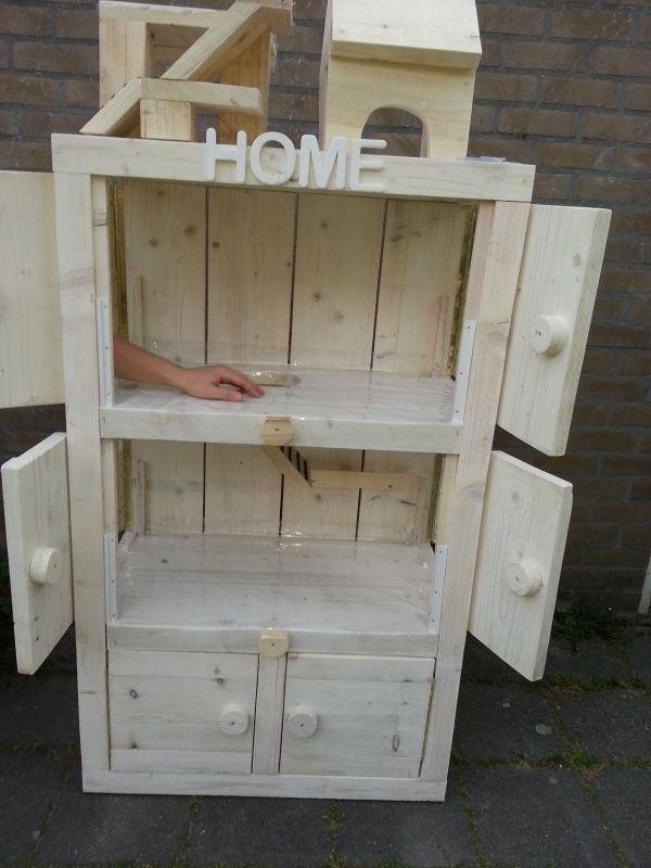 Cavia flat houtbewerking pinterest flats houtbewerking en ontwerp - Hoekbank hok ...