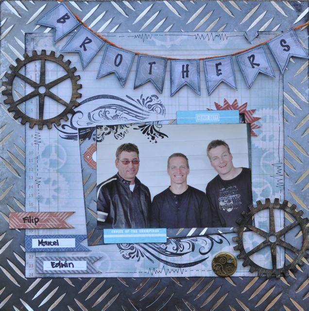 something for the boys, made using the Garage Days collection from Kaisercraft.  By Kelly-ann Oosterbeek.