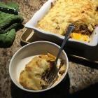 Foto de receta: Gratín de pastas con carne picada y salsa