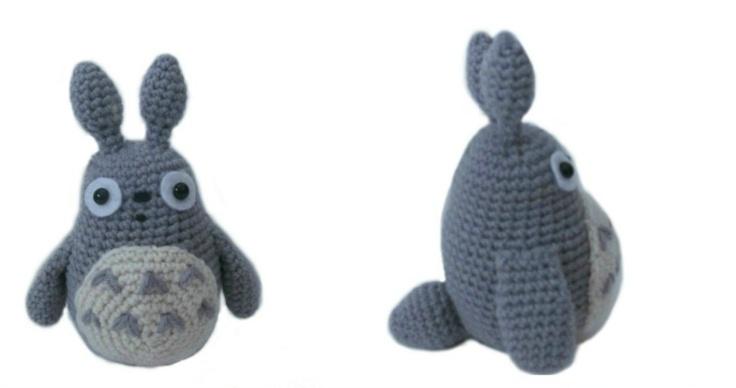 Free Crochet Totoro pattern by Amigurumi To Go! Crochet ...