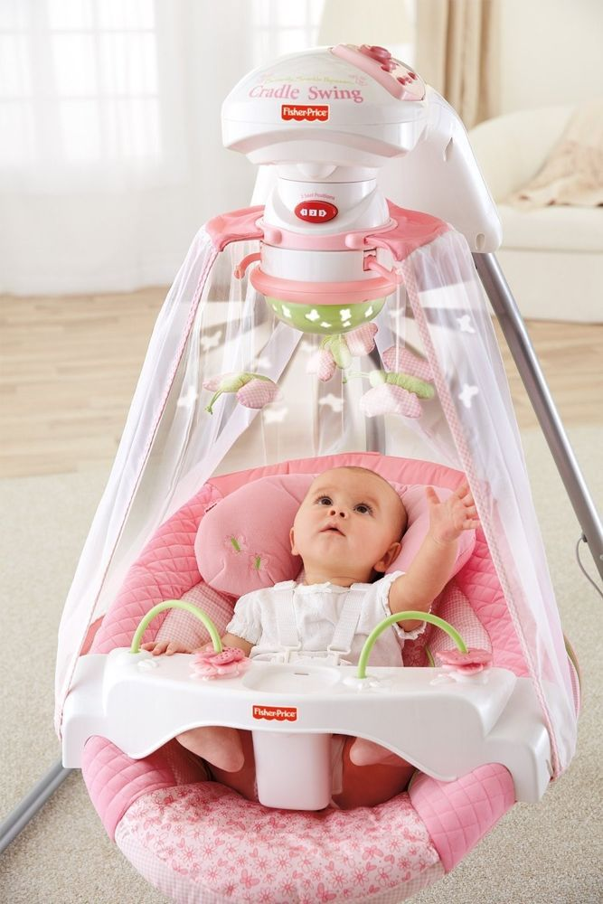 Newborn Baby Gift Cradle Swing Infant Toy Play Rest Sleep