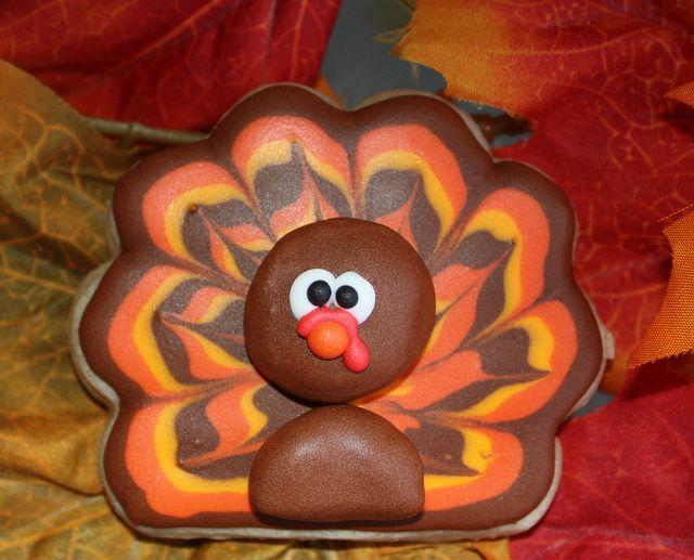 Brilliant turkey cookie!