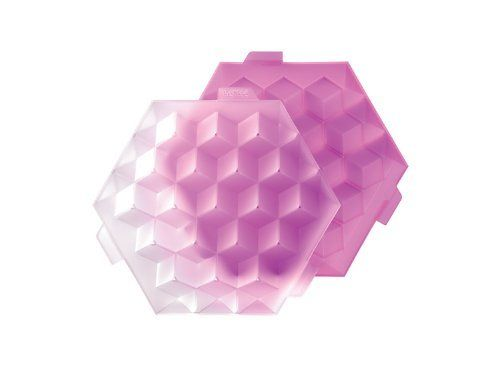 Lekue Ice Cube Tray, Pink by Lekue. $20.00. Lekue offers a wide range of rubber ice-cube trays because this material offers many possibilities as far as color and shape are concerned and guarantees perfect results in the refrigerator and freezer.. Lekue ice cube trays are manufactured in rubber and are completely flexible, making extraction of ice easy and quick. Suitable for freezer but not oven or microwave safe. Hand wash recommended. Ice molds to make ice cubes w...