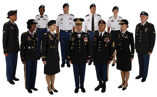 Project Manager Soldier Protection and Individual Equipment (PM SPIE) based the Army Service Uniform (ASU) on the Army Blue Uniform. The designs of the men's and women's Army Blue Uniform coats remain unchanged. The belted trousers and slacks with a traditional low waistline will be available for daily wear.
