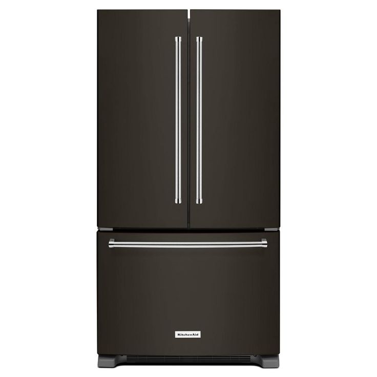 Kitchenaid 36 In W 25 8 Cu Ft French Door Refrigerator: Only Best 25+ Ideas About Black Stainless Steel On Pinterest