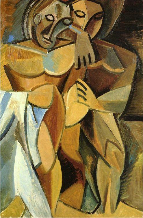 Reproducción de Picasso Pablo, La Amistad