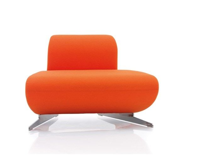 Orange Box Inspired Oval Modular Seating. Made with CMHR foam (fire resistant).