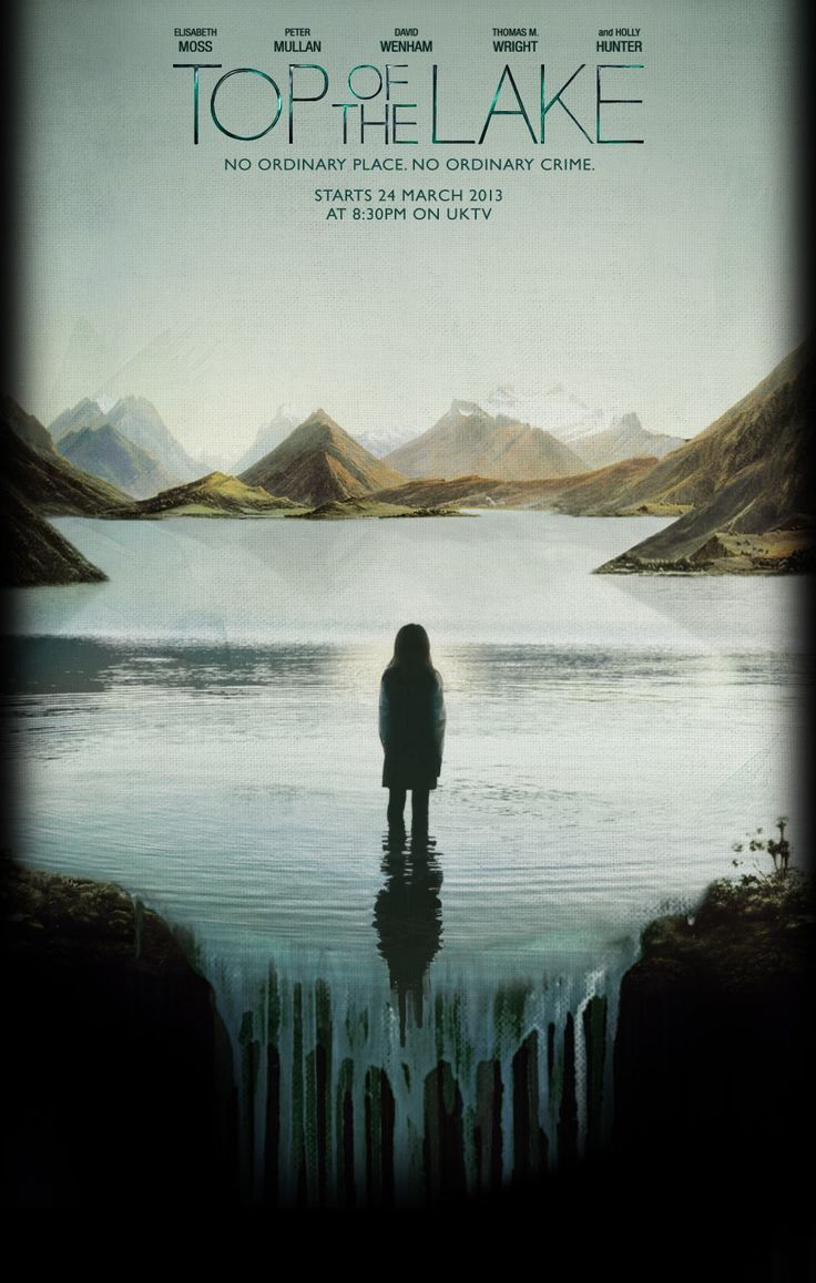 Top of The Lake. Heart-wrenching, painful and beautiful... Awesome poster art and intro! I tell you, watch it!