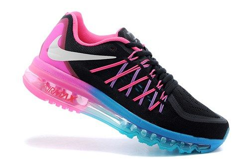 2015 new 698903-106 Air Max black rose Women running sport shoes