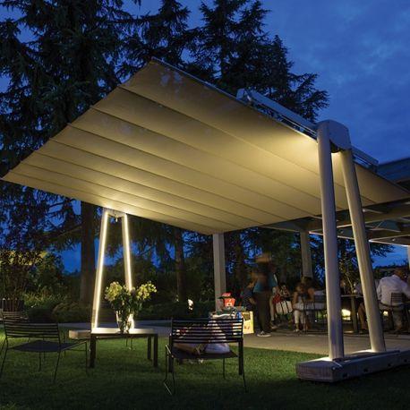 Flexy XL - Parasol Géant Autoportant Toile Rétractable Orientable par Fim