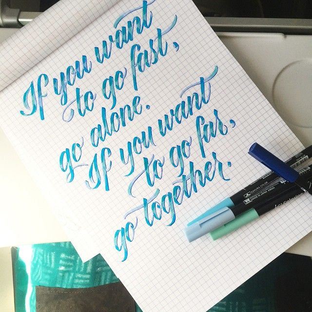 Melissa Esplin Of I Still Love Calligraphy Letters This