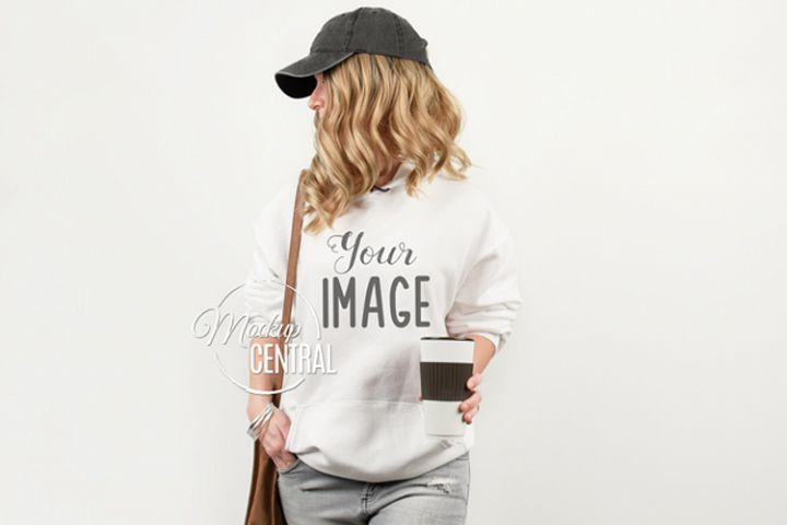 Download Pin By Kodhibanks On Product Mock Ups White Hoodie Women Clothing Mockup White Hoodie