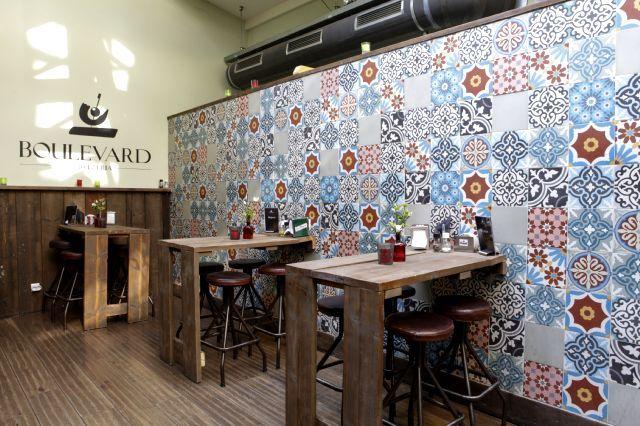 Cement tiles - Project Boulevard Cerveceria - Cafe