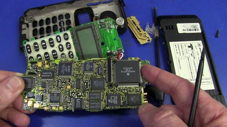 EEVBlog #492 - Vintage Motorola MicroTAC Mobile Phone Teardown