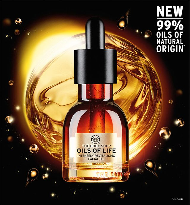 The Bodyshop Oils of Life Facial Oil