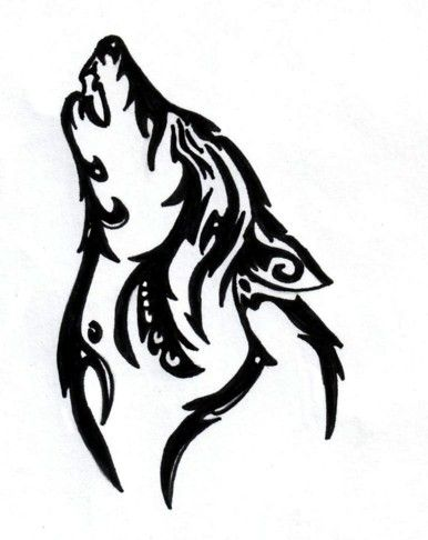 Wolf tribal tattoo. I would never get it but it's one of the nicer ones I've seen.