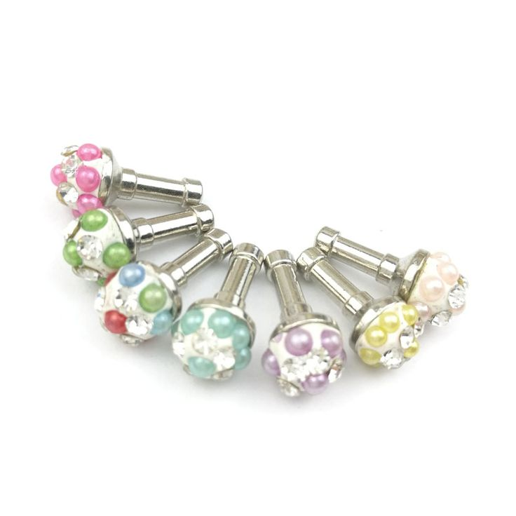 Find More Dust Plug Information about 10PCS Elegant Pearl Gem Alloy Anti Dust Plug 3.5mm Accessory For iPhone Samsung Cell Phone Charm Headphone Jack Earphone Ear Cap,High Quality accessories desk,China accessories hp Suppliers, Cheap accessories for htc phone from Geek on Aliexpress.com