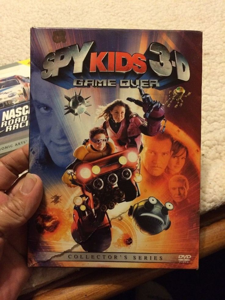 Spy Kids 3: Game Over (DVD, 2004, Includes both 2-D and 3-D Versions) 786936230550 | eBay
