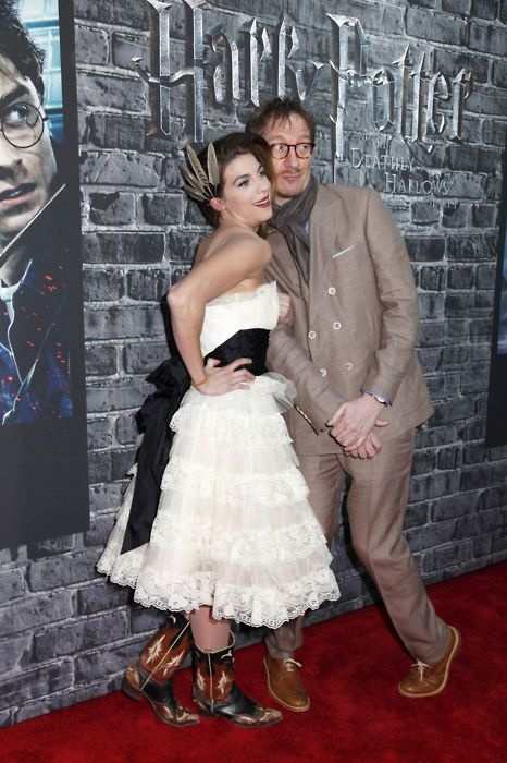 I just love Natalia! I think they found the perfect Remus & Tonks!