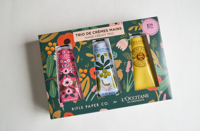 New Deals on L'Occitane Rifle Paper Co. Hand Cream Trio