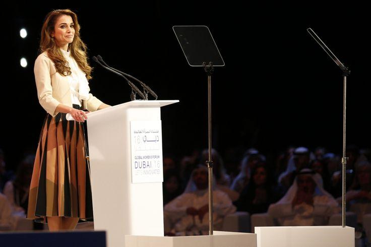 La reine Rania se bat pour les femmes arabes
