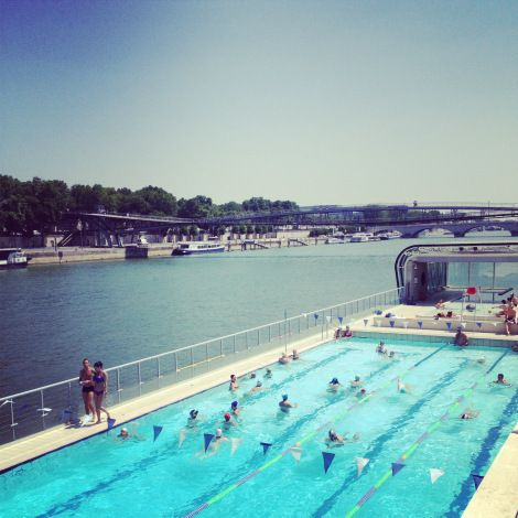 17 best images about floating pool on pinterest for Josephine baker pool paris france