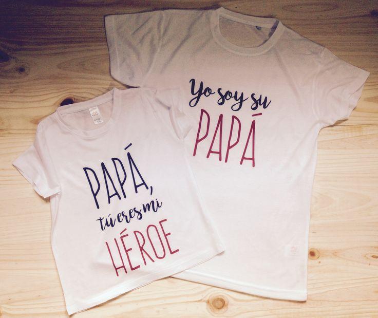 En ParD2 despedimos la semana haciendo más cositas para el día del Padre! Hoy os traemos estas SuperCamisetas para padre e hijo (Papá tu eres mi héroe - Yo soy su papá) para que tengáis un detallazo con vuestro superhéroe particular!  www.pard2design.com ParD2 Design