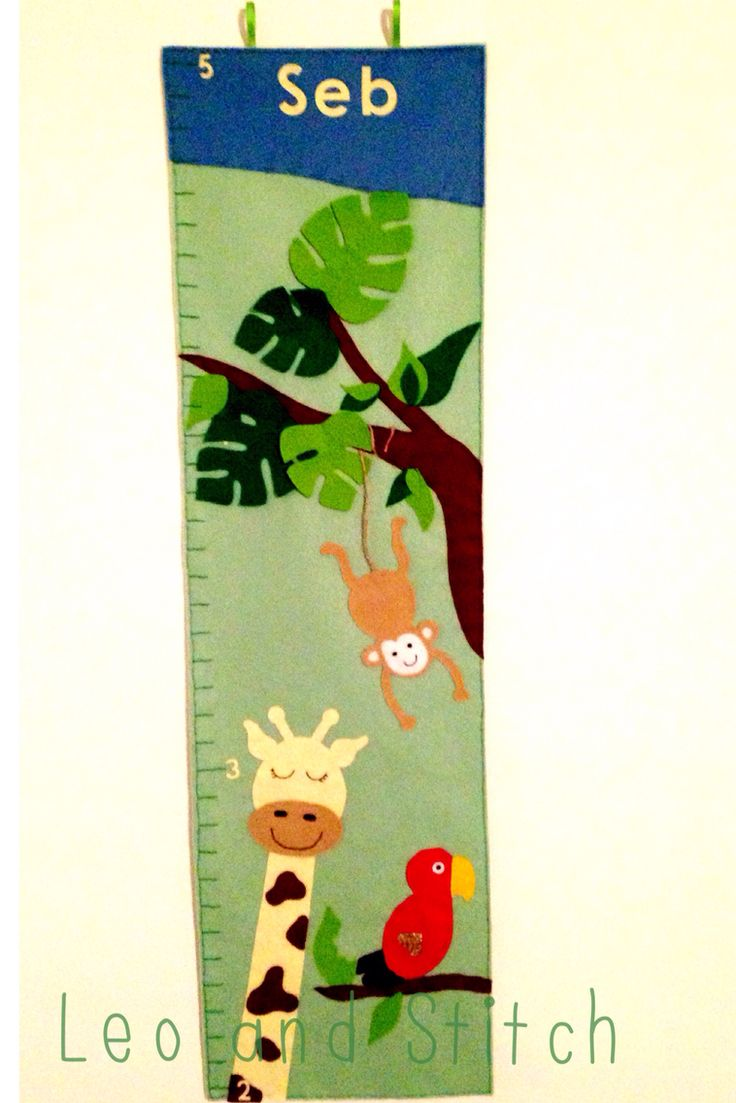 Jungle felt height chart
