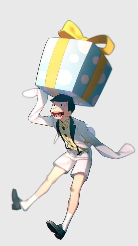 Osomatsu-san   Jyushimatsu #Anime「♡」 「ホワイトデー松」/「ぽ」の漫画 [pixiv]