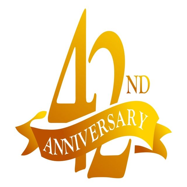 Cinta De 42 Anos Aniversario Aniversario Cumpleanos Negocio Png Y Vector Para Descargar Gratis Pngtree Happy 42nd Anniversary Anniversary Happy Anniversary Cards