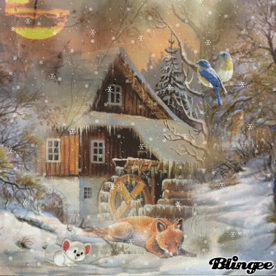 natur bild winter weihnachten schneekugel. Black Bedroom Furniture Sets. Home Design Ideas