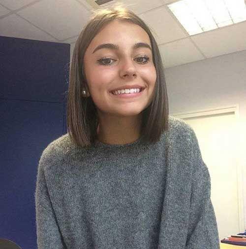 15+ Kurze dünne Frisuren, zum weiblich leicht zu sein