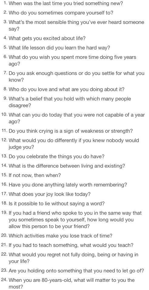 74 Thought Provoking Questions to Get You Pondering