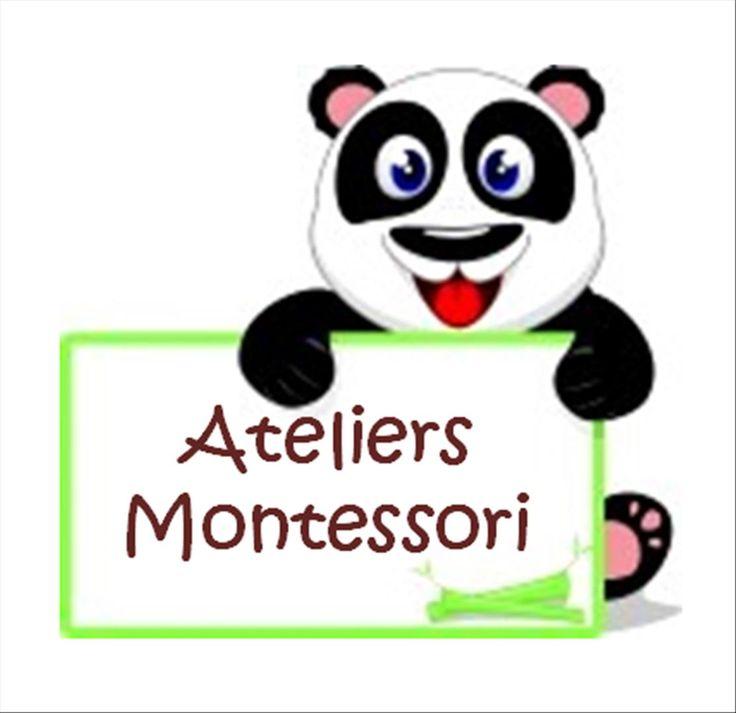 idées géniales pour travailler la lecture, le français, les Maths, la géo,etc... depuis le site http://www.loustics.eu/ateliers-montessori-2-a100301209