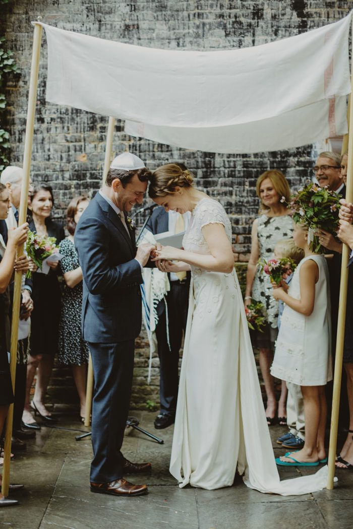 6-modern-jewish-wedding-ceremony - Once Wed