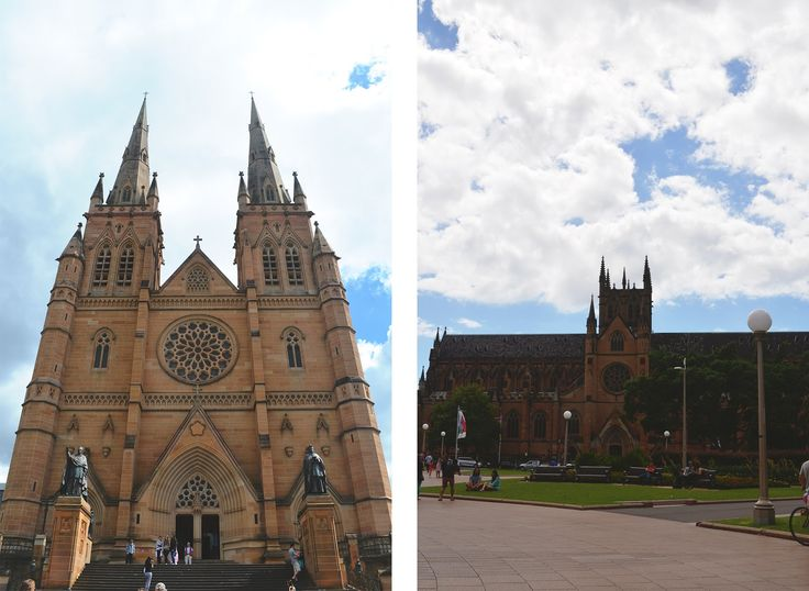 Sydney  St Mary's Cathedral Travel
