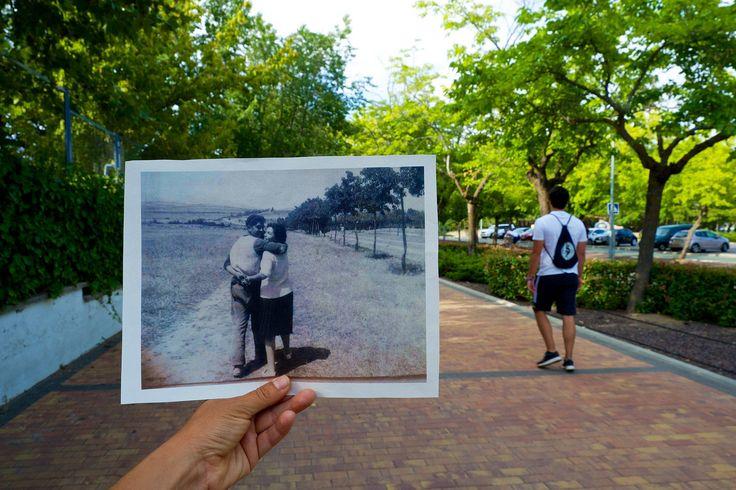 Memorias del paisaje IV. La pareja camino de los Remedios.Belén Carrillo Calvo