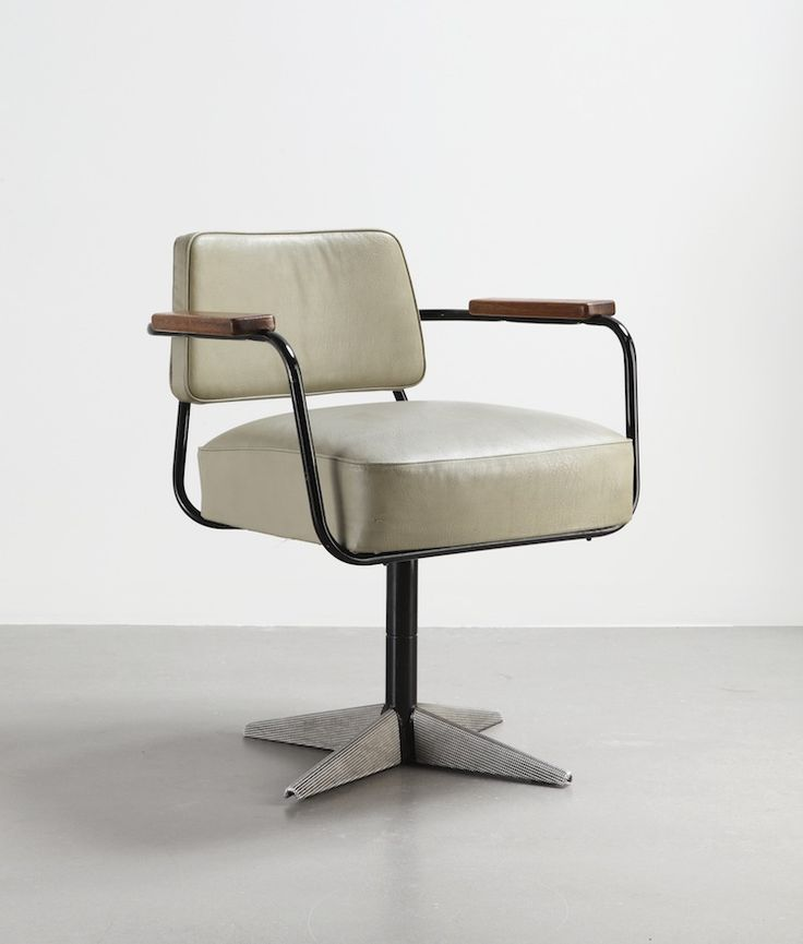 Jean Prouvé, No 353 swivelling office chair, c.1951 - From A Buyer's Guide to French Modernism