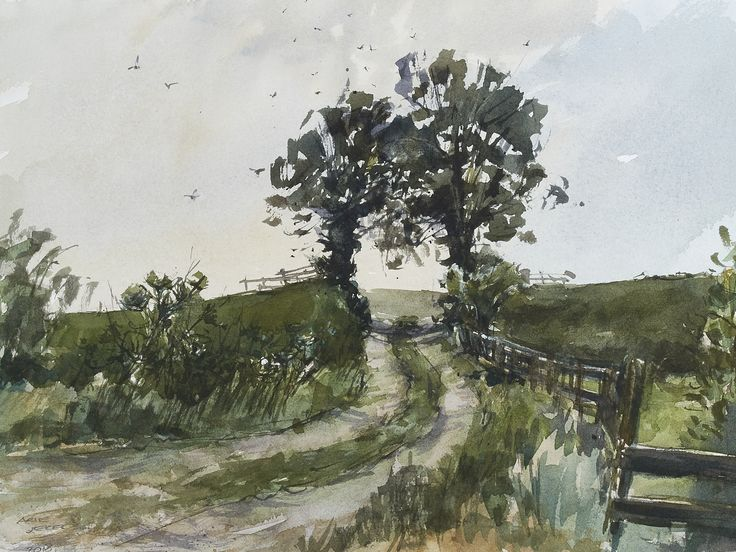 Arie Jekel | Inner Dike | Watercolor